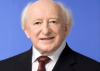 Michael D. Higgins puts Michael Graham in his place