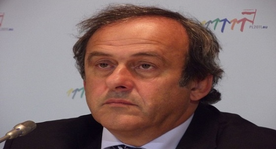 UEFA President Michel Platini who floated the idea of a Euro for Europe earlier this year