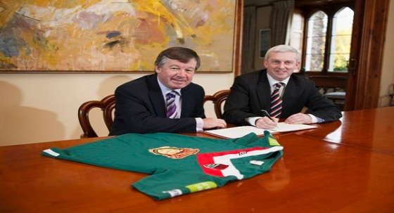 UCC President Dr Michael Murphy and CCFC Chief Executive Tim Murphy