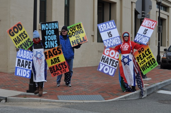 Westboro Baptist Church Protesting