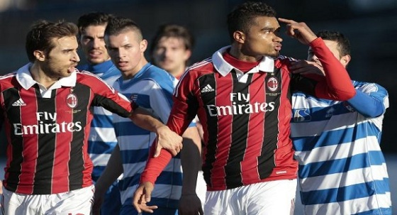 Running away? Kevin-Prince Boateng refused to stand for being racially abused.