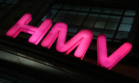 HMV may be liquidated, causing the loss of thousands of jobs.