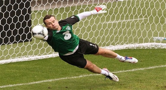 The sight of Shay Given in an Irish jersey may not yet be a thing of the past.